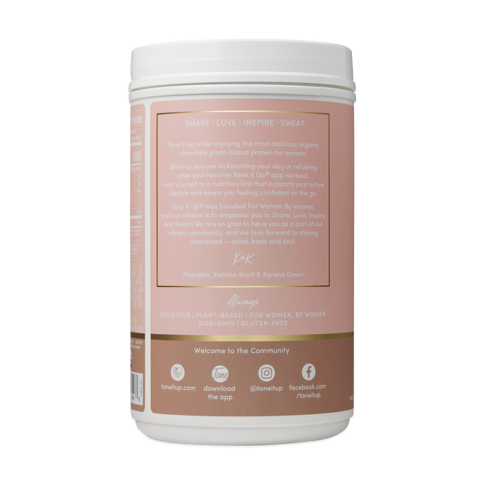 Plant Based Organic Chocolate Protein Powder - 28 Servings