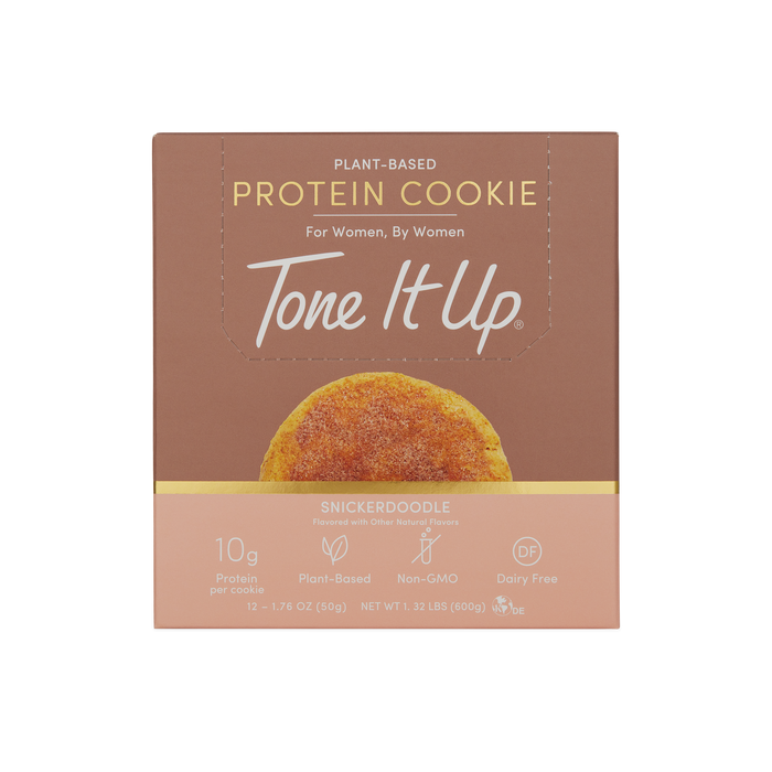 Snickerdoodle Protein Cookies - 12 Count