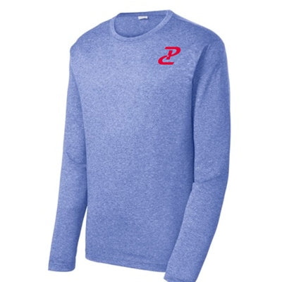 Performance Long Sleeve - Heather Royal