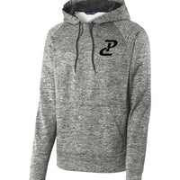 PC Performance Hoody - Black Heather/Black
