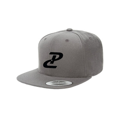 PC Flatbill Snapback - Grey/Black