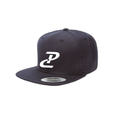 PC Flatbill Snapback - Black/White