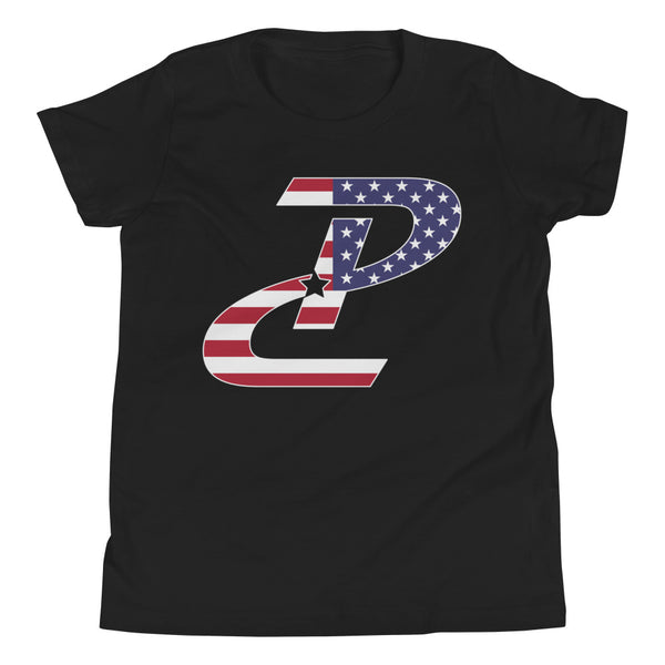 Youth Patriotic Logo Tee - Multiple Colors