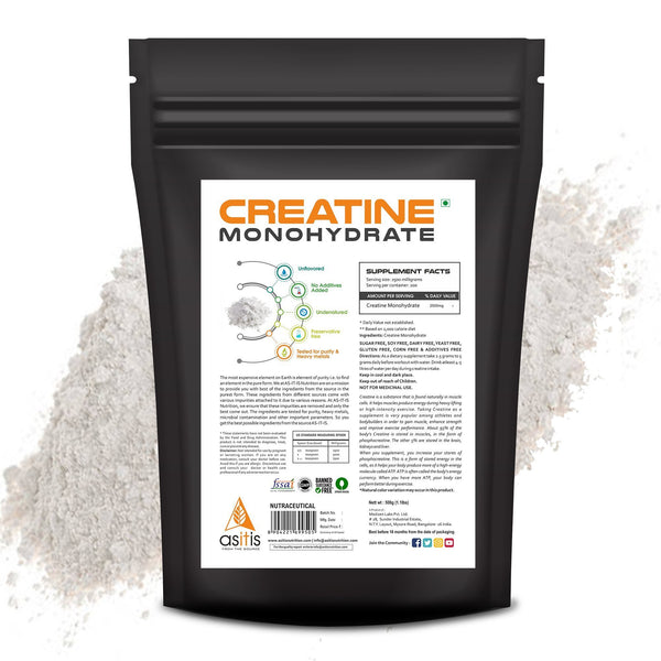 AS-IT-IS Nutrition Pure Creatine Monohydrate - As-It-Is Nutrition