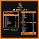 brown rice protein nutritional facts