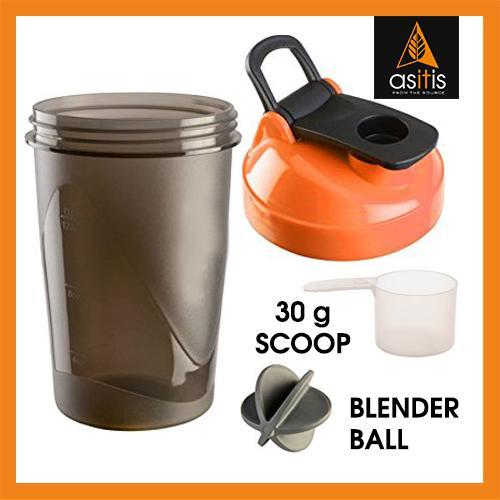 best buy online Protein Shaker Bottle with Scoop (30g) & Mixer Ball