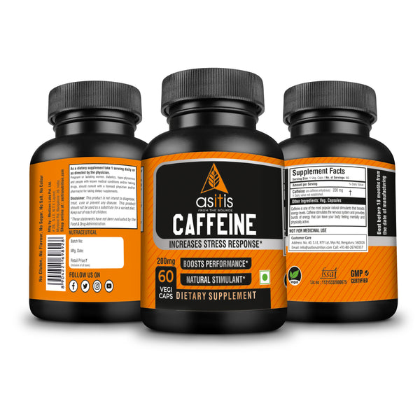 AS-IT-IS Nutrition Caffeine Capsules