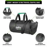 Zenith Sports Duffel Bag | Light Weight | For Gym & Travel | Separate Shoe Compartment