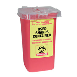 1L Used Sharps Container