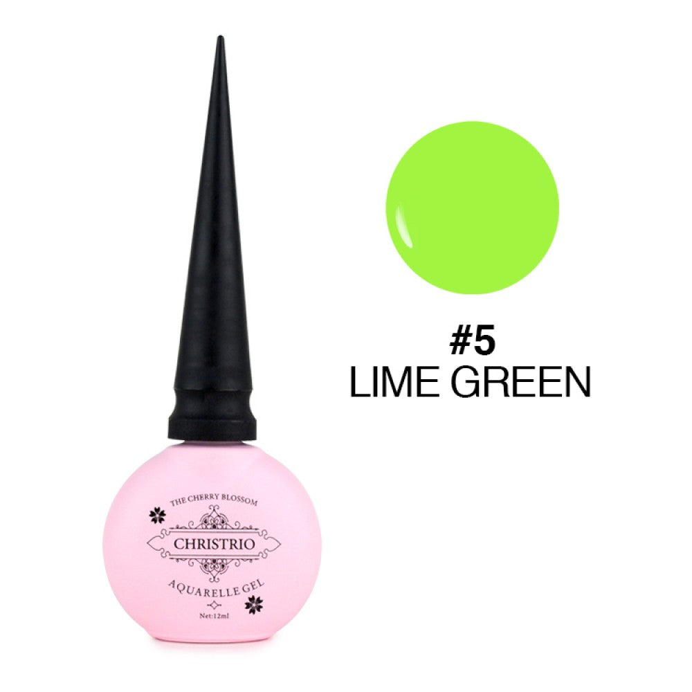 Christrio Aquarelle Gel - #05 Lime Green