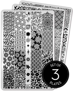 UberChic Stamping Plates - Just for Claws - 01