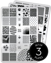 Load image into Gallery viewer, UberChic Stamping Plates - Collection 02