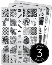 Load image into Gallery viewer, UberChic Stamping Plates - Collection 03