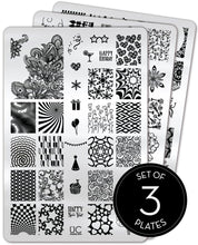 Load image into Gallery viewer, UberChic Stamping Plates - Collection 06