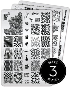 UberChic Stamping Plates - Collection 06