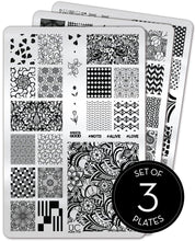 Load image into Gallery viewer, UberChic Stamping Plates - Collection 17