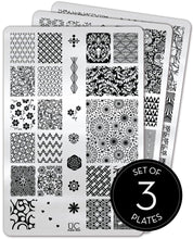 Load image into Gallery viewer, UberChic Stamping Plates - Collection 18