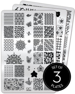 UberChic Stamping Plates - Collection 20