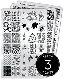 UberChic Stamping Plates - Collection 26