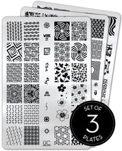 Load image into Gallery viewer, UberChic Stamping Plates - Collection 27