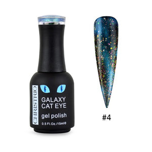Christrio Galaxy Cat Eye Gel Polish - #04