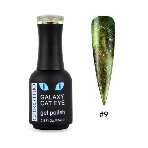 Christrio Galaxy Cat Eye Gel Polish - #09