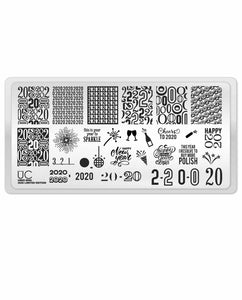 UberChic Stamping Plate Mini - 2020 (Limited Edition)