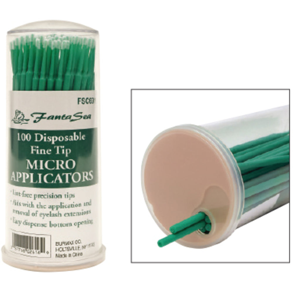 Disposable Fine Tip Micro Applicators - 100ct.