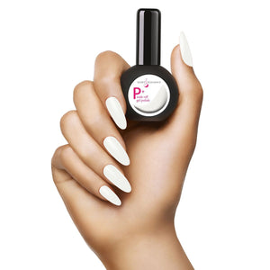 LE P+ White Swimsuit Gel Polish 15mL