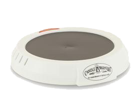 Candle Warmer Round White