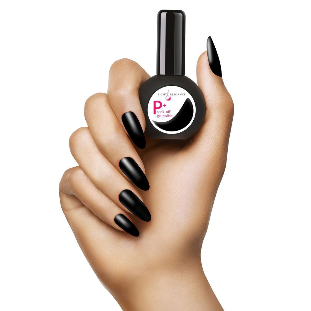 LE P+ Black Tie Gel Polish 15mL