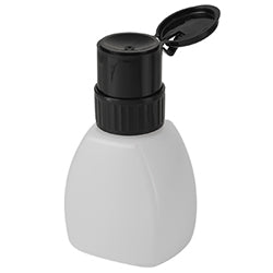 8oz Lockable Black Top Pump Dispenser Bottle