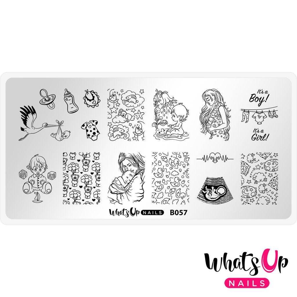 Whats Up Nails Stamping Plate - The Gift of Life