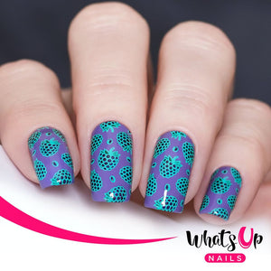 Whats Up Nails Stamping Plate - Summer in the Countryside