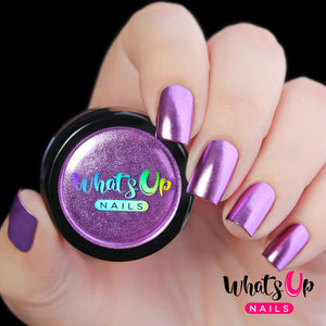 Whats Up Nails Chrome Powder - Lilac