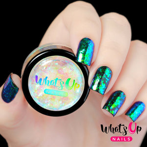 Whats Up Nails Flakies - Mermaid