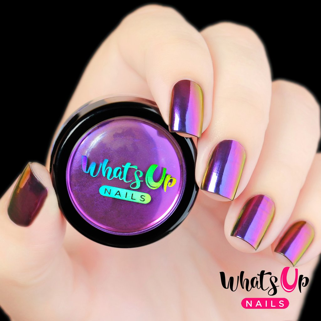 Whats Up Nails Chrome Powder - Mirage