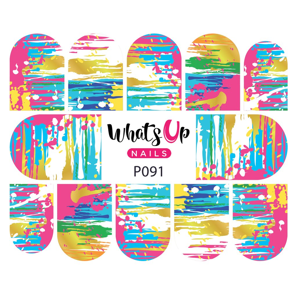 Whats Up Nails Water Decals - Abstract Mind (P091)