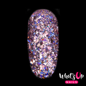 Whats Up Nails Glitter - Shattered Holo Petal