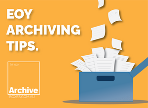 End of Year Archiving Tips