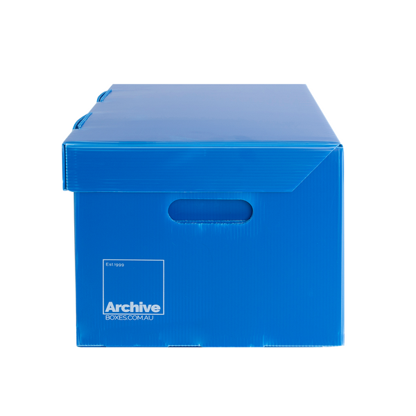 A4 Archive Storage Box - Attached Lid
