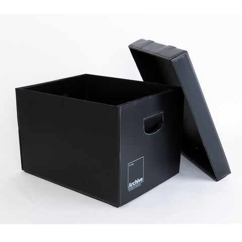 Plastic Archive Box - Separate Lid