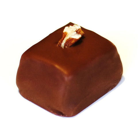 Creamy Pecan Caramel covered with Milk Chocolate