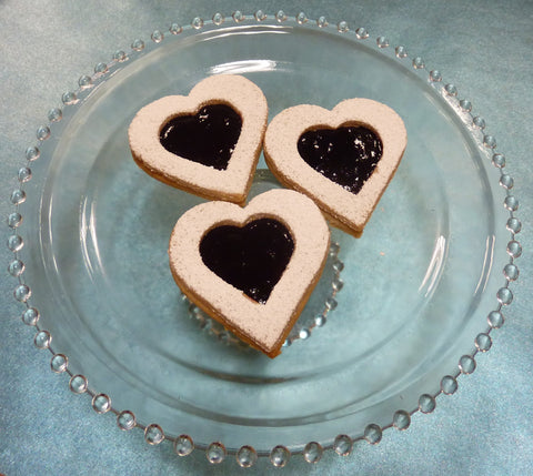 Blackberry Linzer Cookie