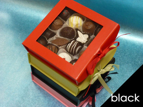 Gourmet Mixed Chocolates in Black Gift Box, 16 pc.