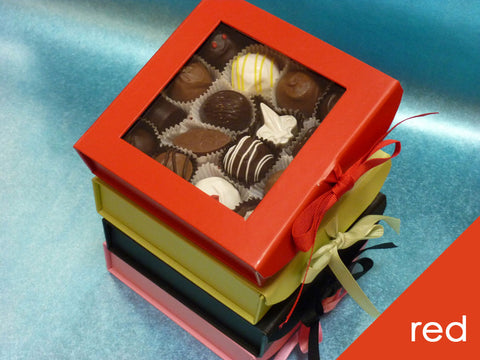 Gourmet Mixed Chocolates in Red Gift Box, 16 pc.