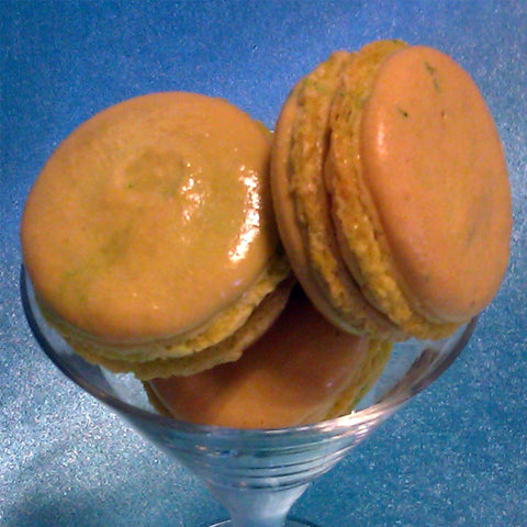 Passionfruit French Macaron