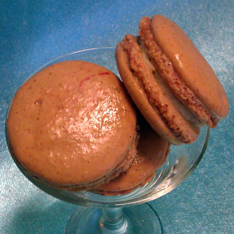 Red Thai Curry French Macaron