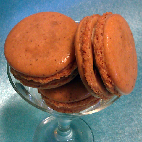 Toffee French Macaron