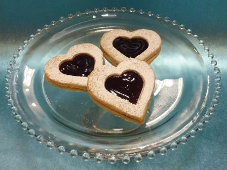Rasbperry Linzer Cookie